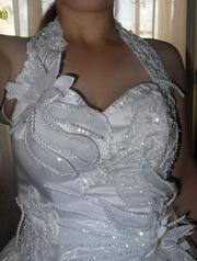 Продам свадебное платье,  1 раз б/у