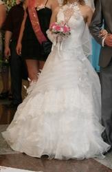 Очень красивое свадебное платье Американка