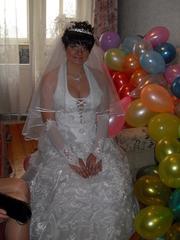 продам оч.красивое свадебное платье