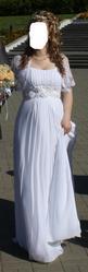 Свадебное платье в греческом стиле,  белого цвета,  из салона