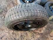 Зимние шины Dunlop 185/65R15 88T M+S на дисках 4х100