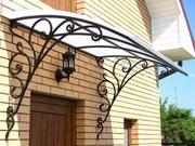 Кованые ворота,  калитки,  заборы,  навесы и другие металлоконструкции