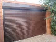 Ворота в гараж,  ворота въездные