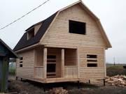 Дома из бруса сруб Эмил 6×8 м. В Солигорске