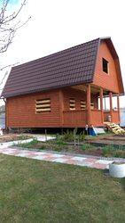 Дом из профилированного бруса сруб Евгений 6х6 м